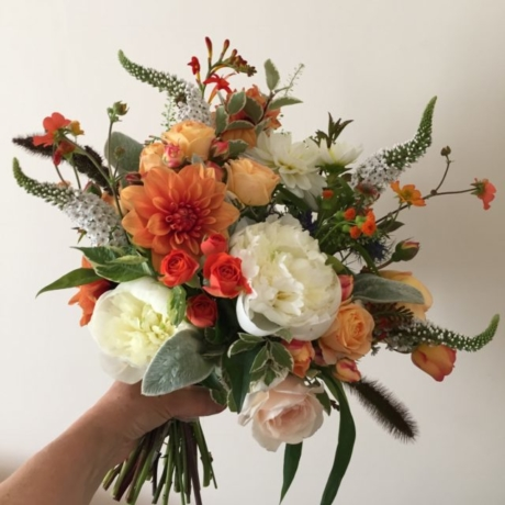 Orange summer bouquet