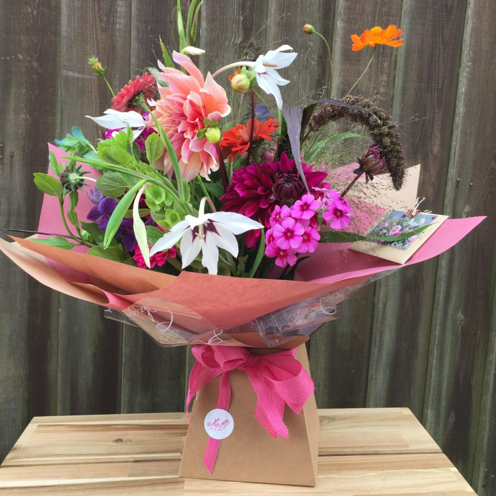 Birthday flowers daphne and doreen florists as i took delivery of a bucket full of blooms recently it struck me that the bucket contained a beautiful mix of what was best in the garden at that moment izmirmasajfo