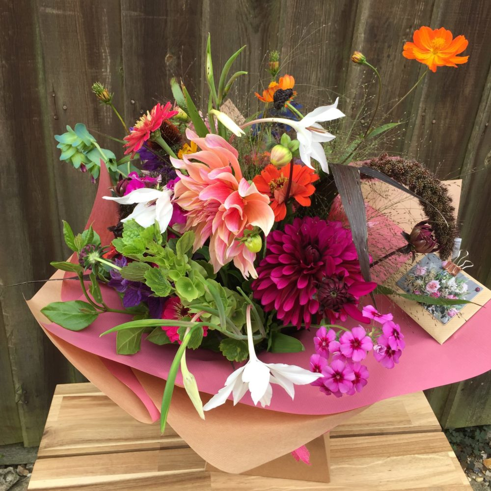 Birthday flowers daphne and doreen florists i really like this idea as it means the bouquet is full of textures different colours shapes and scents izmirmasajfo